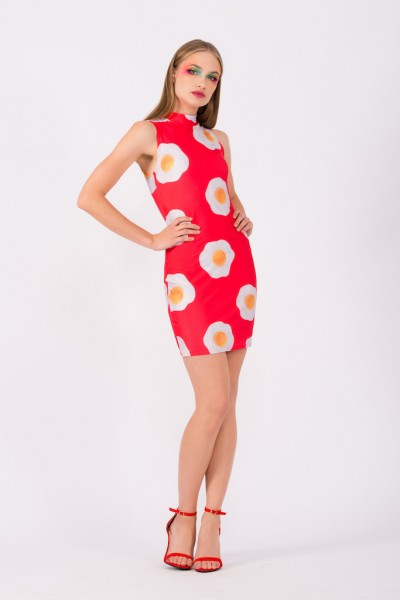 Eggs Red Dress