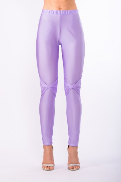 Heaven Lilac Bows Leggings