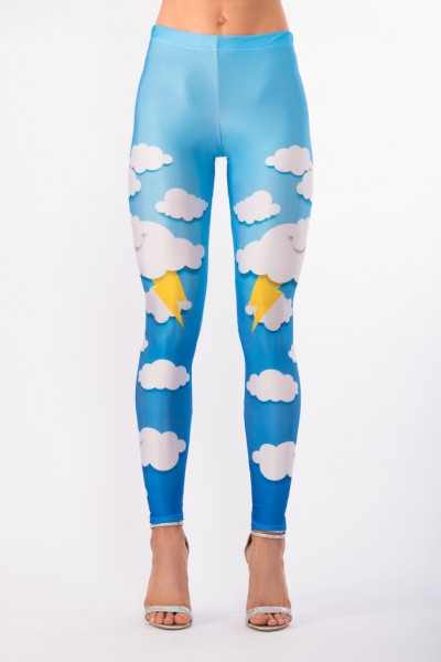 Clouds & Bolts Leggings